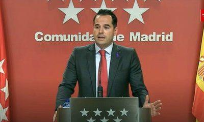 Madrid plantea reuniones de 10 personas en Navidad y atrasar el toque de queda a la 1:30 los días 24 y 31