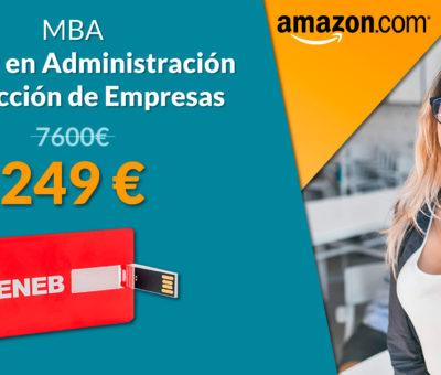 Amazon empieza a comercializar un Máster Online por solo 249 euros