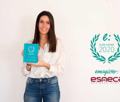 Esneca Business School recibe el Premio Cum Laude 2020 de Emagister