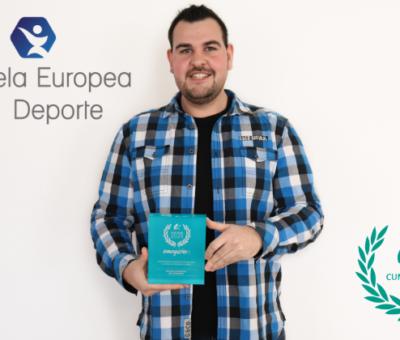 La Escuela Europea del Deporte recoge el Sello Cum Laude 2020 de Emagister