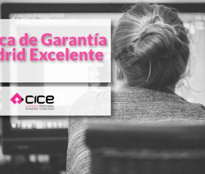 CICE obtiene el sello de Marca de Garantía Madrid Excelente