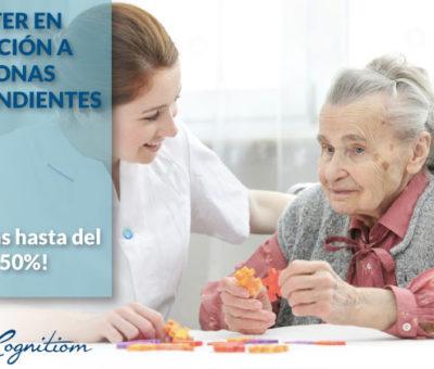 Cognitiom lidera la oferta laboral en atención a personas dependientes