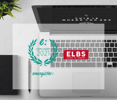Sello Cum Laude 2021 por las opiniones de Escuela ELBS