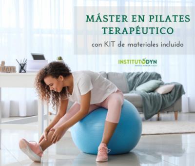 Instituto DYN ofrece una formación en Pilates con Kit de materiales incluido