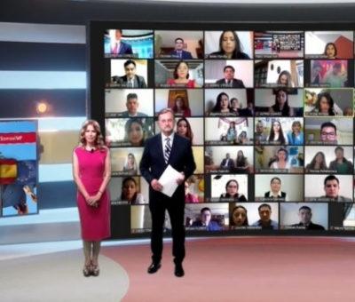 IMF estrena plató virtual con la graduación de IMF Ecuador
